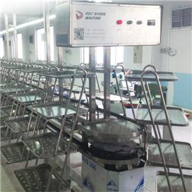 R-9988b-n-41 all stainless steel three-dimensional assembly line shoes factory assembly line