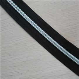 5# nylon zipper silver tooth Jiarong factory direct smooth no fork