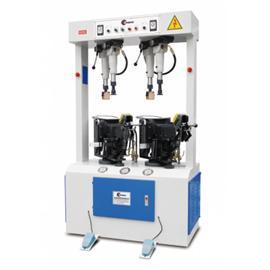 全自动万能油压压底机TH-616 腾宏鞋机 前帮机 后帮机采用全油压设计 压力大 贴合牢固