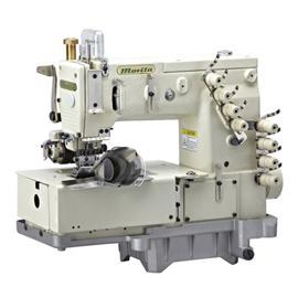 MR1508P 四针平台型弯针横向双重环缝链式裤腰缝纫机