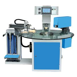 Tyl-580 multi-station disc indexing scalding trademark machine, Teng Yulong machinery