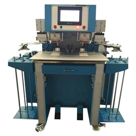 TYL-5902 双工位自动商标烫印机 烫商标机 鞋垫烫商标机