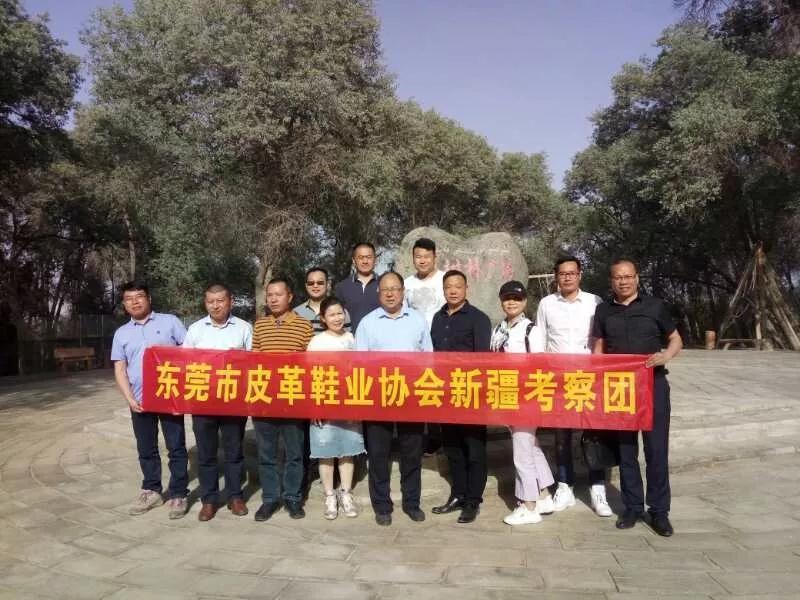 东莞市皮革鞋业协会赴新疆和田考察制鞋产业