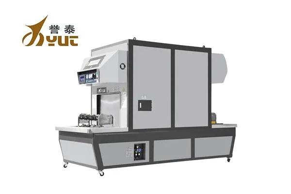 【YT-102A 电脑通道式真空加硫机】电脑数控操作系统,操作简单方便安全