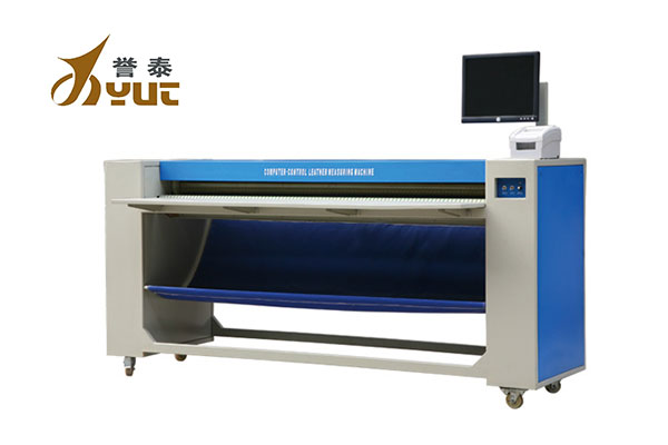 YT-208 vertical automatic leather measuring machine