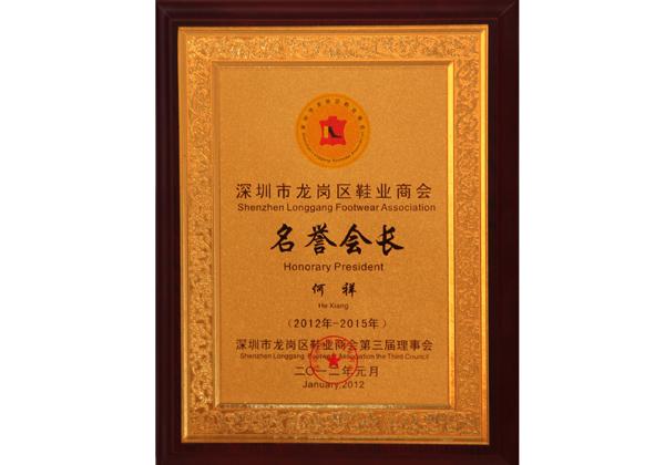 深圳名誉会长
