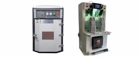 【YT-132A电脑推车真空加硫机】密闭式加硫系统,高效节能,定型效果好