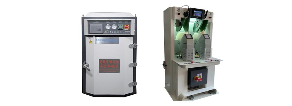 【YT-132A电脑推车真空加硫机】本机能呈现皮料的自然纹理,定型效果好,性能稳定..