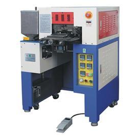 QY-8075A低溫熱熔膠鞋頭印置機