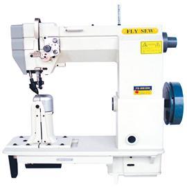 恒联飞缝新品速递厂家直销FS-8810H单针高速立柱式罗●拉车(适用于粗线车缝),工业缝纫机自产自销
