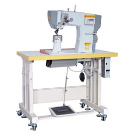 FS-8920 fully automatic direct drive, shears, double stitch rollers.