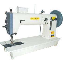 恒联针车飞缝牌单针综合送平车(极厚物料之车缝)FS-243,厂家专业生产工业缝纫机,罗拉车质量保证
