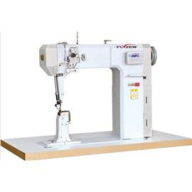 Full automatic direct drive of flying stitch constant needle car