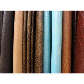鳄鱼纹超纤皮,鳄鱼纹超细纤维合成革,鳄鱼超纤革图片