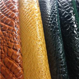 Superfine fiber reinforced PU leather 049