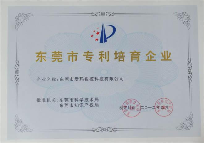 Dongguan patent cultivate enterprise