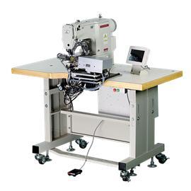 智能折缝织带机 MLK-T33 全自动饰条机 折边机 全自动折边机