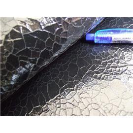 羊皮貼金屬膜龜裂效果,裂紋輕盈亮麗羊皮革,貼金屬膜龜裂特殊羊皮