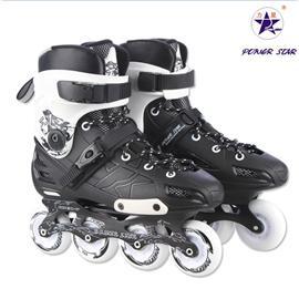 力星F1轮滑鞋 成人溜冰鞋 FSK专用鞋