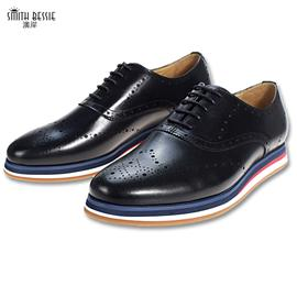 G8953-H9牛皮猪皮EVA+橡胶绅士男鞋