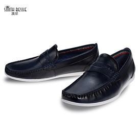 HX180719-1牛皮橡胶底绅士男鞋
