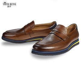 G8953-H1牛皮EVA橡胶大底绅士男鞋