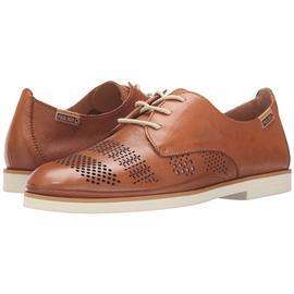 头层牛皮真皮复古商务皮鞋 镂空系带透气鞋