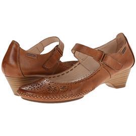 头层牛皮镂空秀气包头透气鞋