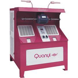 QY198自带吸尘单/双头变频抛光机