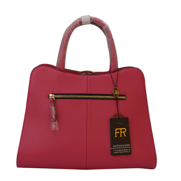 Rose red lady handbag