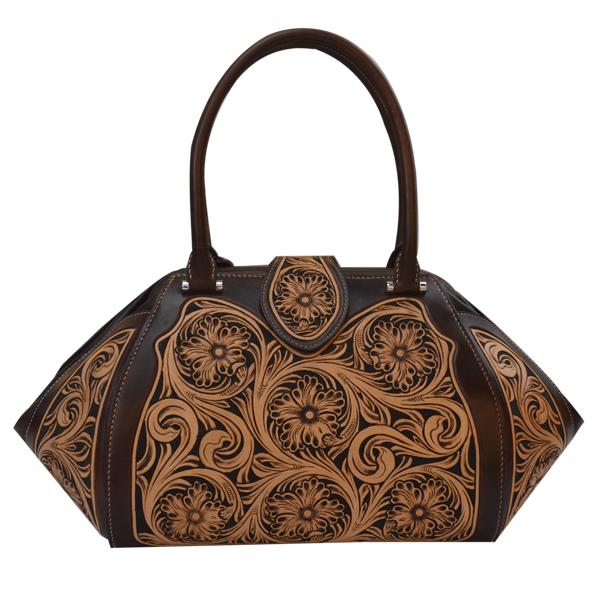 2018手工雕刻包口径包手提包女式包