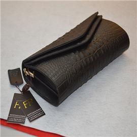 Black Leather female bag