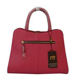 Rose red lady handbag