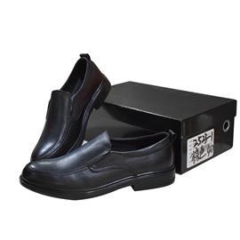 三荣皮匠商务时尚真皮男士皮鞋9067透气舒适橡胶底