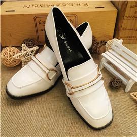 三荣皮匠BB--007休闲女鞋中跟女鞋通勤女鞋女鞋批发