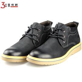 2018新款马丁靴男士短靴真皮高帮英伦韩版潮流头层牛皮皮靴
