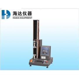微电脑单柱拉力试验机HD-605 检测仪器 万能材料试验机 拉力试验机