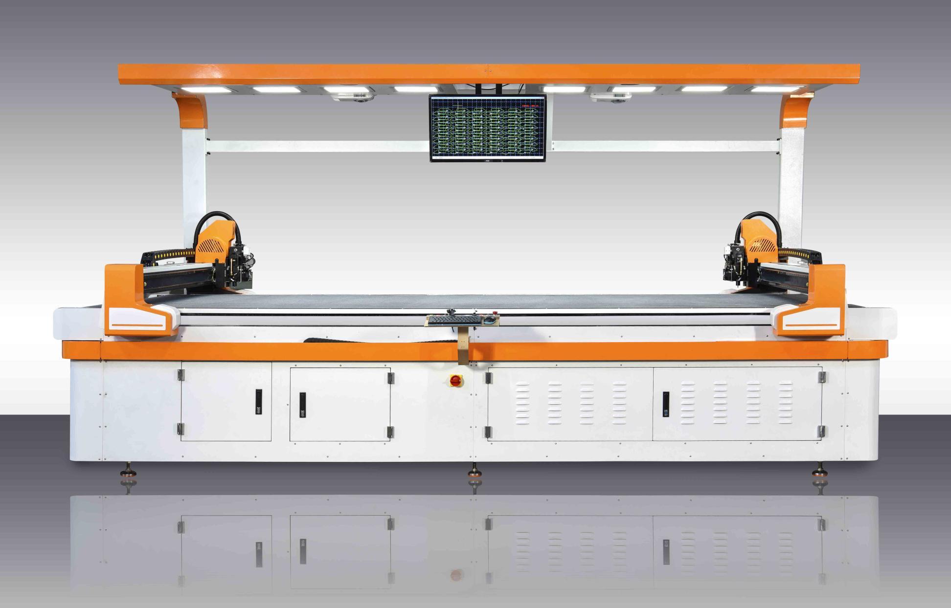P100真皮切割机 面皮切割机 面皮裁断机