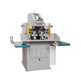 Automatic extraction - type manual pad molding machine