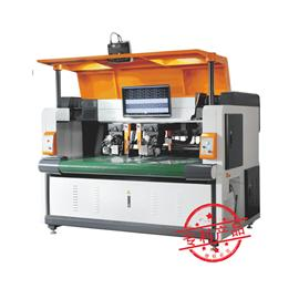 HF- qg188-1 CNC double head vibrating cutter slitting machine