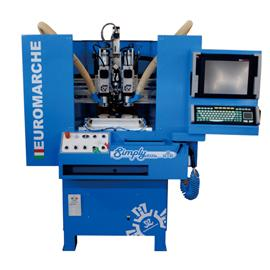 Simply free single position slotting machine leather bottom cutting machine