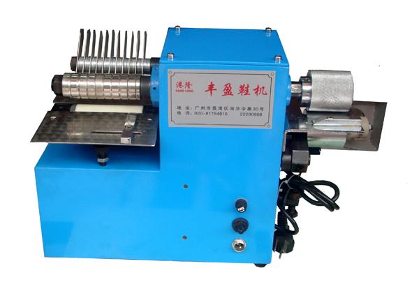 Leather stripping cutter machine