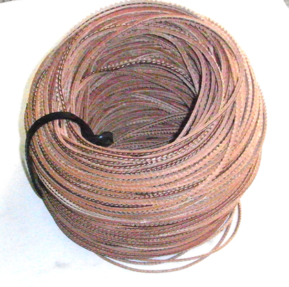 special genuine leather trimming ribbon 01