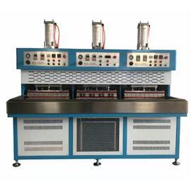 RS-18T3A三工位滑臺冷熱壓合機|榮勝高周波