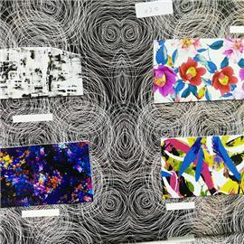 花皮|多款彩色印花皮|皮聚皮革