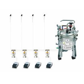 JW100水性胶刷胶机(容量十公升)