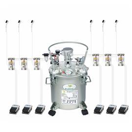 水性胶刷胶机(容量二十公升)-JW-105