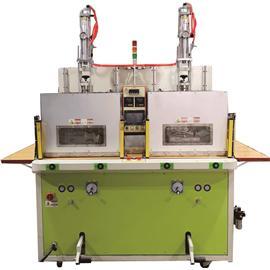 数位节能增压型高週波单面双头鞋面压花机PR-8500TAHF1E-IIA-CE~PR-15000TAHF1E-IIA-CE(防辐射版)
