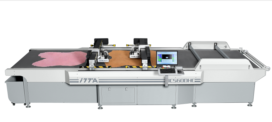 4.0 digital leather cutting production line helps you solve various problems