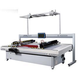 IC400DH 智能振动刀皮革切割机(双头)|电脑皮革切割机|电脑数控机
